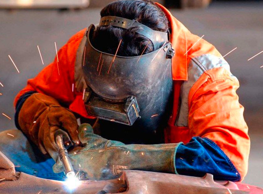 Mobile welding and steel fabrication